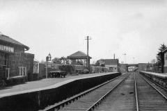 Balfron Station 1930s looking north