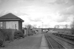 Balfron station looking towards Stirling c1958