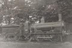 NBR 320(1061) Ex Edinb'gh & Glasgw Rlwy No 92 Balfron 0-4-2