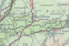 Balfron map c1930