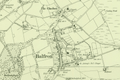 Balfron map, 1920s