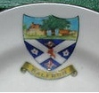 Balfron crest on plate