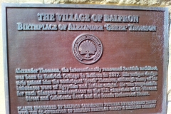 Plaque commemorating Alexander Greek Thomson
