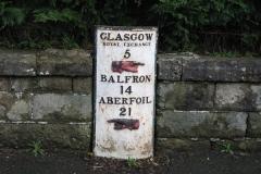 14 miles to Balfron