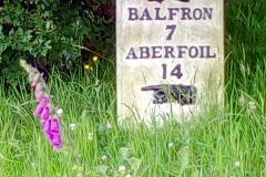 7 miles to Balfron