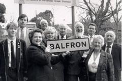 'New' village sign