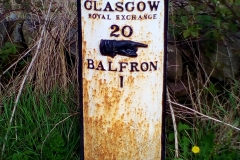 One mile to Balfron