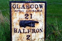 Two miles to Balfron
