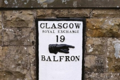 Sign in Balfron