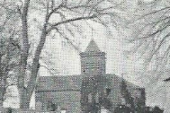 Church and bell tree, 1909