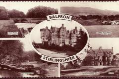Multiview postcard of Balfron